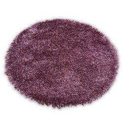 Teppich LOVE SHAGGY kreis Modell 93600 purple