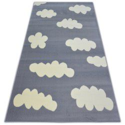 Teppich BCF FLASH CLOUDS 3978 grau WOLKEN