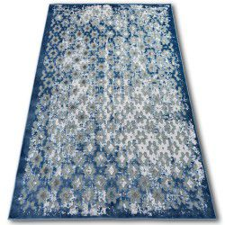 Teppich ACRYL YAZZ 7006 ORIENT Grau / Blau / Elfenbein