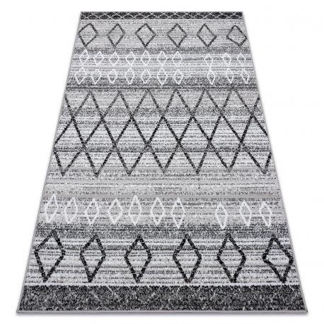 Teppich BCF ANNA Maroc 2968 marokkanisch ethnisch grau