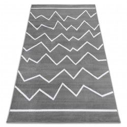 Carpet BCF ANNA Crooked 2962 ZigZag dark grey