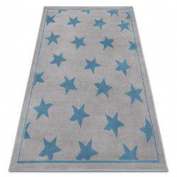 Carpet BCF ANNA Stars 3105 grey / blue