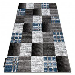 Carpet ALTER Siena squares Trellis blue