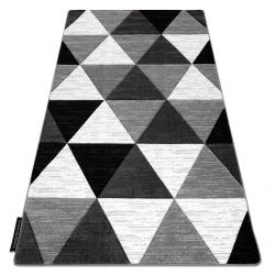 Koberec ALTER Rino trojúhelníky šedá
