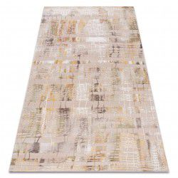 Carpet ACRYLIC USKUP 351/5032 beige / yellow