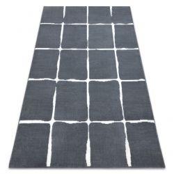 Koberec BCF FLASH 33067870 mřížoví šedá