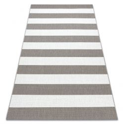 Carpet SISAL FLAT 48644686 Stripes white beige