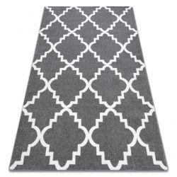 Teppich SKETCH - F343 grau /weiß trellis