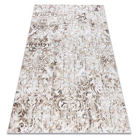 Carpet ACRYLIC VALS 0A027A C56 54 Ornament Flowers beige / ivory