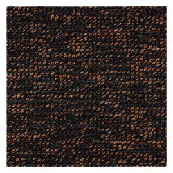 Fitted carpet BLAZE 399 dark brown / copper