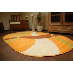 Carpet oval KASHMIR 062 orange