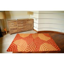 Koberec RUBIKON 8581 oranžový