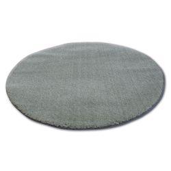 Koberec kruh SHAGGY MICRO zelená