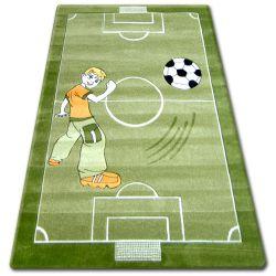 Teppich für Kinder HAPPY C225 grün Feld