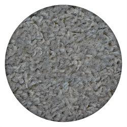 TAPPETO cerchio ETON argento