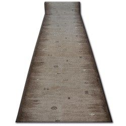 Runner anti-slip GABBEH brown AZTEC ETHNIC