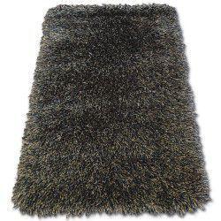 Килим LOVE SHAGGY модель 93600 чорний-коричневий