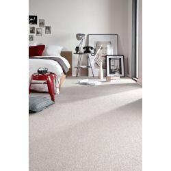 Teppich - Teppichboden TRENDY 300 weiß