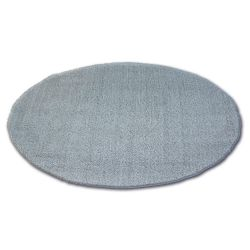 Tapis cercle SHAGGY MICRO argentin
