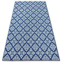 Килим SIZAL COLOR 19246/699 цветя синьо