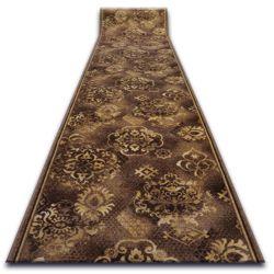 Vastag csúszásgátló futó szőnyeg PALLAS barna