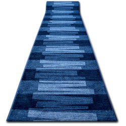 Runner anti-slip VIA VENETO blue