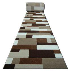 Heat-set Fryz futó szőnyeg PILLY - 8403 arany cacao
