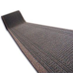 Doormat AZTEC 83 dark brown