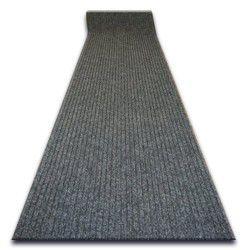 ТОЛСТЫЙ придверный ковер на погонные метры TRAPPER 07 серый