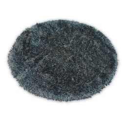 Carpet LOVE SHAGGY circle design 93600 black