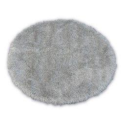Tappeto LOVE SHAGGY cerchio disegno 93600 argento