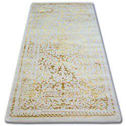 Teppich ACRYL MANYAS 0916 Elfenbein/Gold