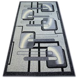Teppich BCF BASE 3923 HIMBEERE grau