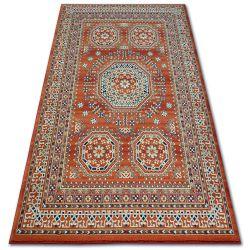 Carpet VERA 3239 Rosette terra / green WOOL