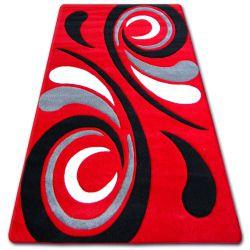 Carpet TIGA 8795A siyah/kirmizi