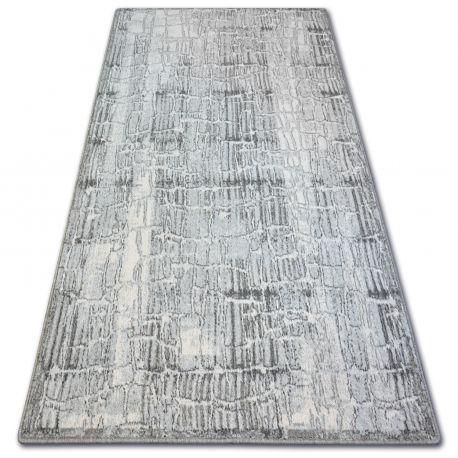 Teppich Wolle MAGIC HISTRIA grau
