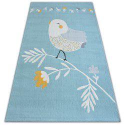 Килим PASTEL 18404/032 - птах синій
