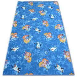 Dětský koberec FROZEN LEDOVÁ ZEMĚ ELZA