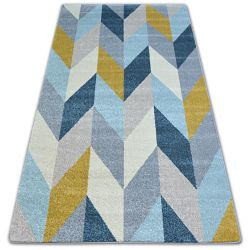 Carpet NORDIC FIR yellow G4582 Herringbone