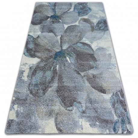 Nordic szőnyeg virágok szürke/barna FD291