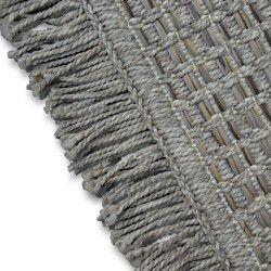 Килим шнуровий SIZAL BOHO 46215/051 бежевий гриль бахрома