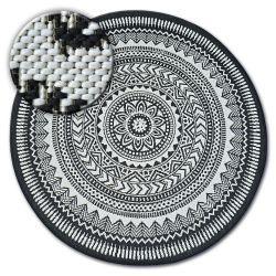 Tappeto cerchio DI SPAGO SIZAL FLAT 48695/690 VETRATA