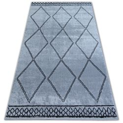 Carpet BCF BASE ETNO 3964 DIAMONDS grey/black