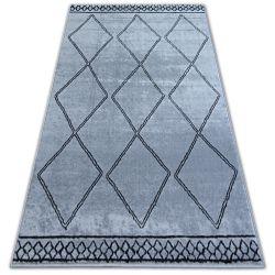 Килим BCF BASE ЕТНО 3964 ромбоиди сиво/черно