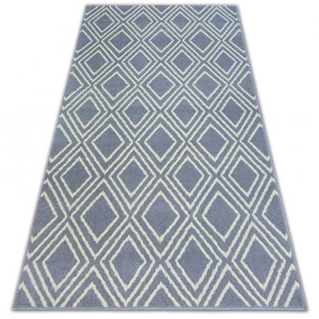 Carpet BCF BASE CONTOURS 3957 SQUARES grey