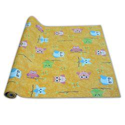 Passadeira carpete infantil OWLS amarelo CORUJAS SÓWKI
