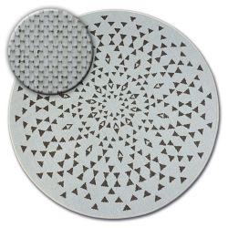 Tappeto cerchio DI SPAGO SIZAL FLAT 48715/768 VETRATA