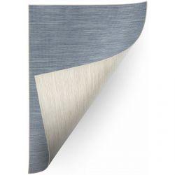 Teppich Doppelseitiges DOUBLE 29201/035 blau melange/beige