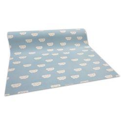 Antypoślizgowa wykładzina dywanowa pour enfants CLOUDS bleu