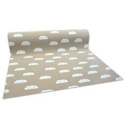 Antypoślizgowa wykładzina dywanowa infantil NUVENS bege